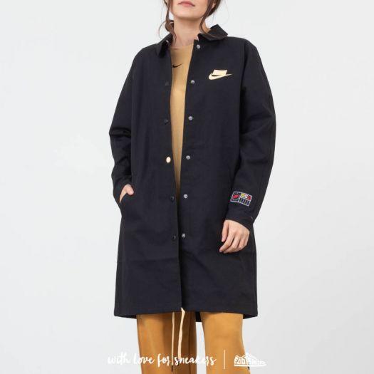 hueco Extinto Frontera  Jackets Nike Sportswear Canvas Jacket Black | Footshop