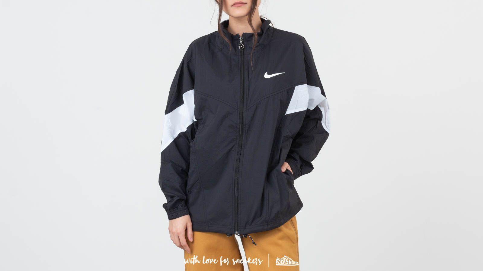 54b7b613fc0 Nike Sportswear Windrunner Jacket Black/ White/ Black/ White ...
