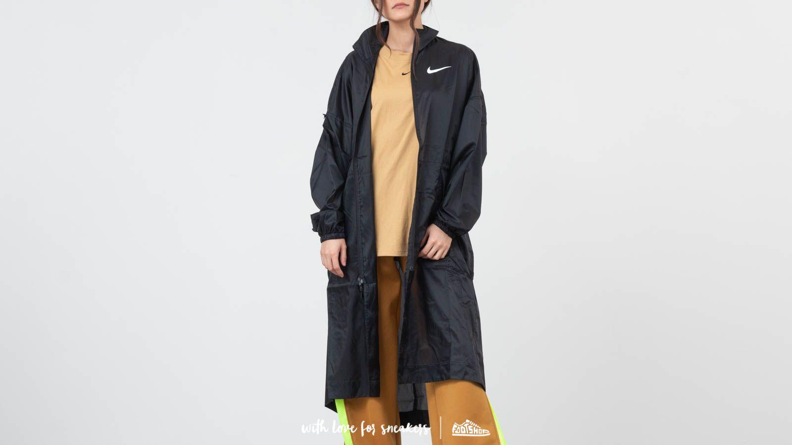 d1714589bbd Nike Sportswear Swoosh Woven Jacket Black/ White   Footshop