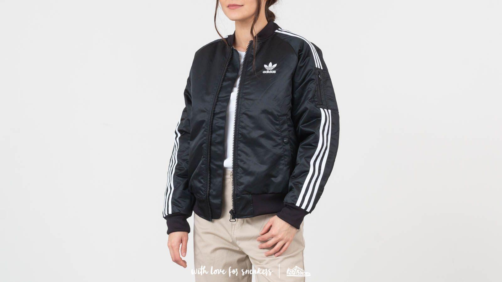 adidas Bomber Jacket Black | Footshop