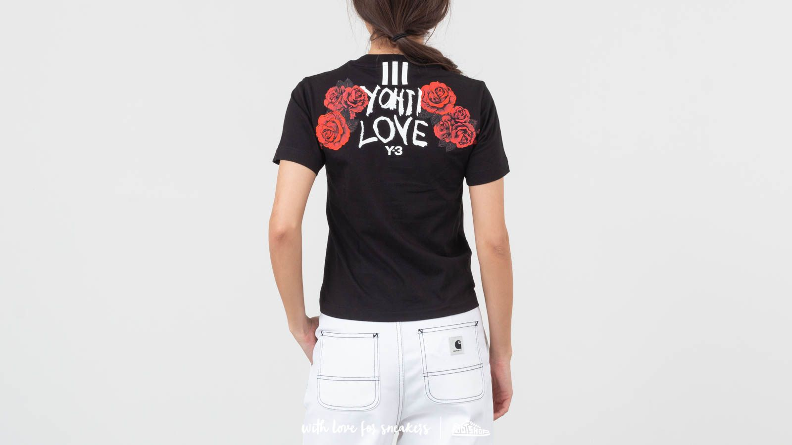 c4b915a3789 Y-3 Yohji Love Tubular Tee Black at a great price 147 € buy at