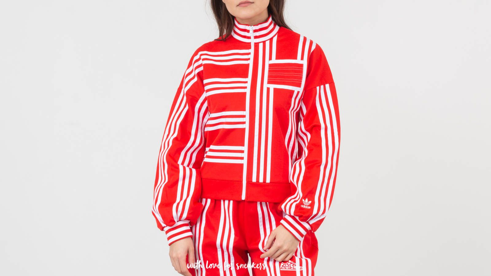 Favor gritar lotería  Sweatshirts adidas x Ji Won Choi Energy Track Top Red