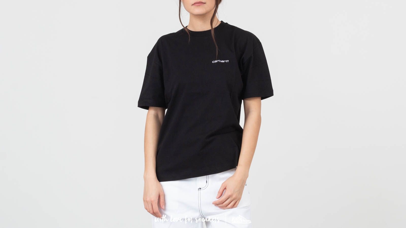 Carhartt WIP Script Embroidery Tee Black/ White at a great price 33 € buy at Footshop