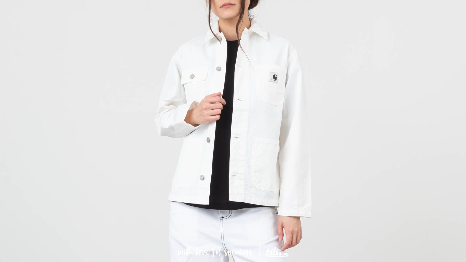 Carhartt WIP Michigan Chore Coat White at a great price 105 € buy at Footshop