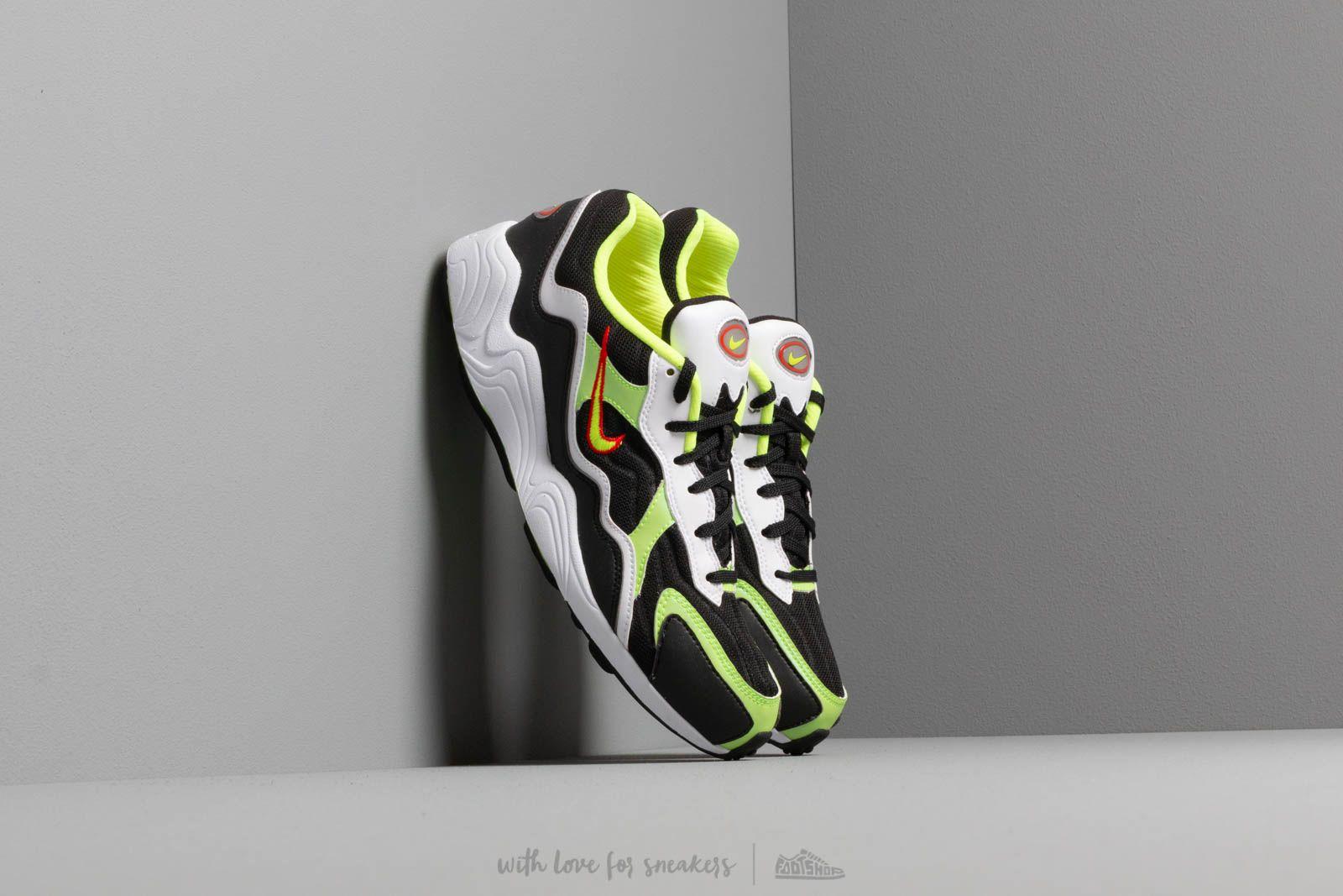 Men's shoes Nike Air Zoom Alpha Black/ Volt-Habanero Red-White