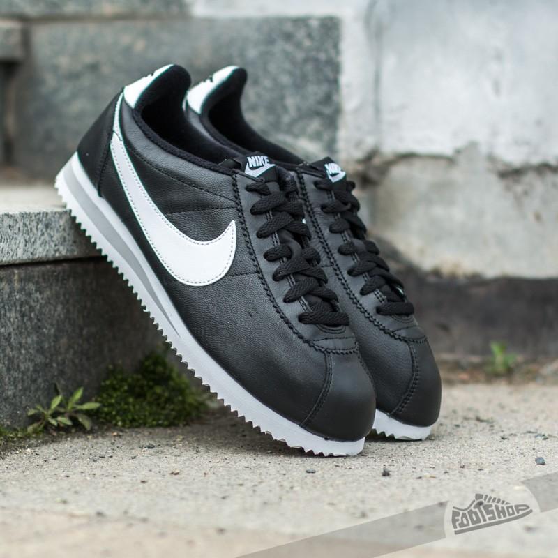new product 91a1b c452f Nike classic Cortez Premium QS Black White-Neutral Grey