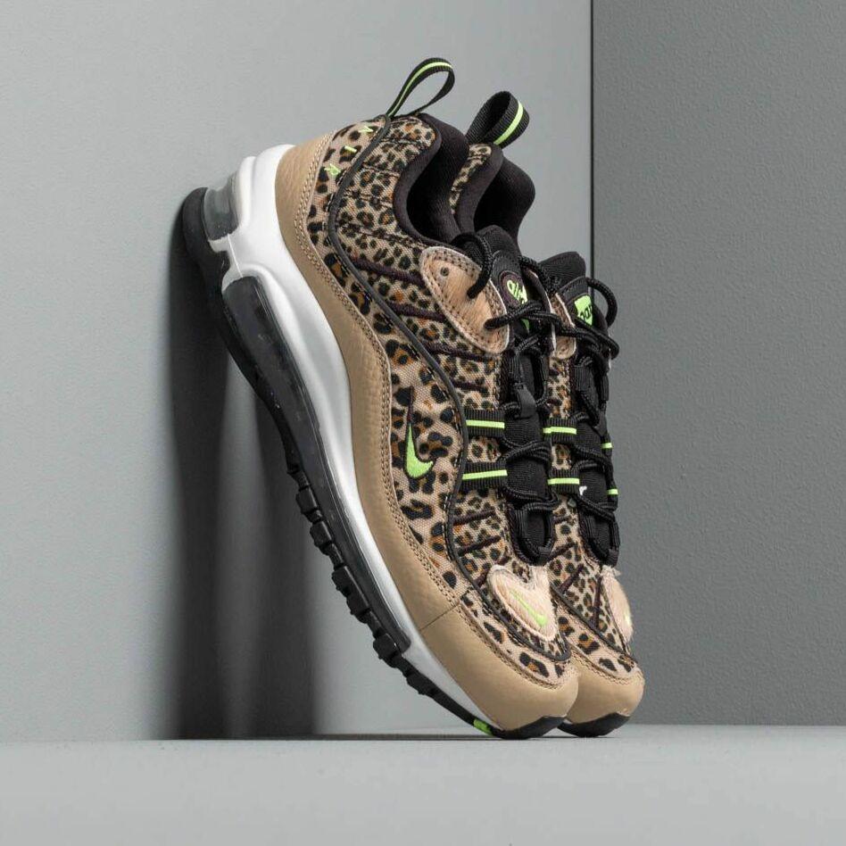 Nike W Air Max 98 Prm Desert Ore/ Volt Glow-Black-Wheat EUR 36.5