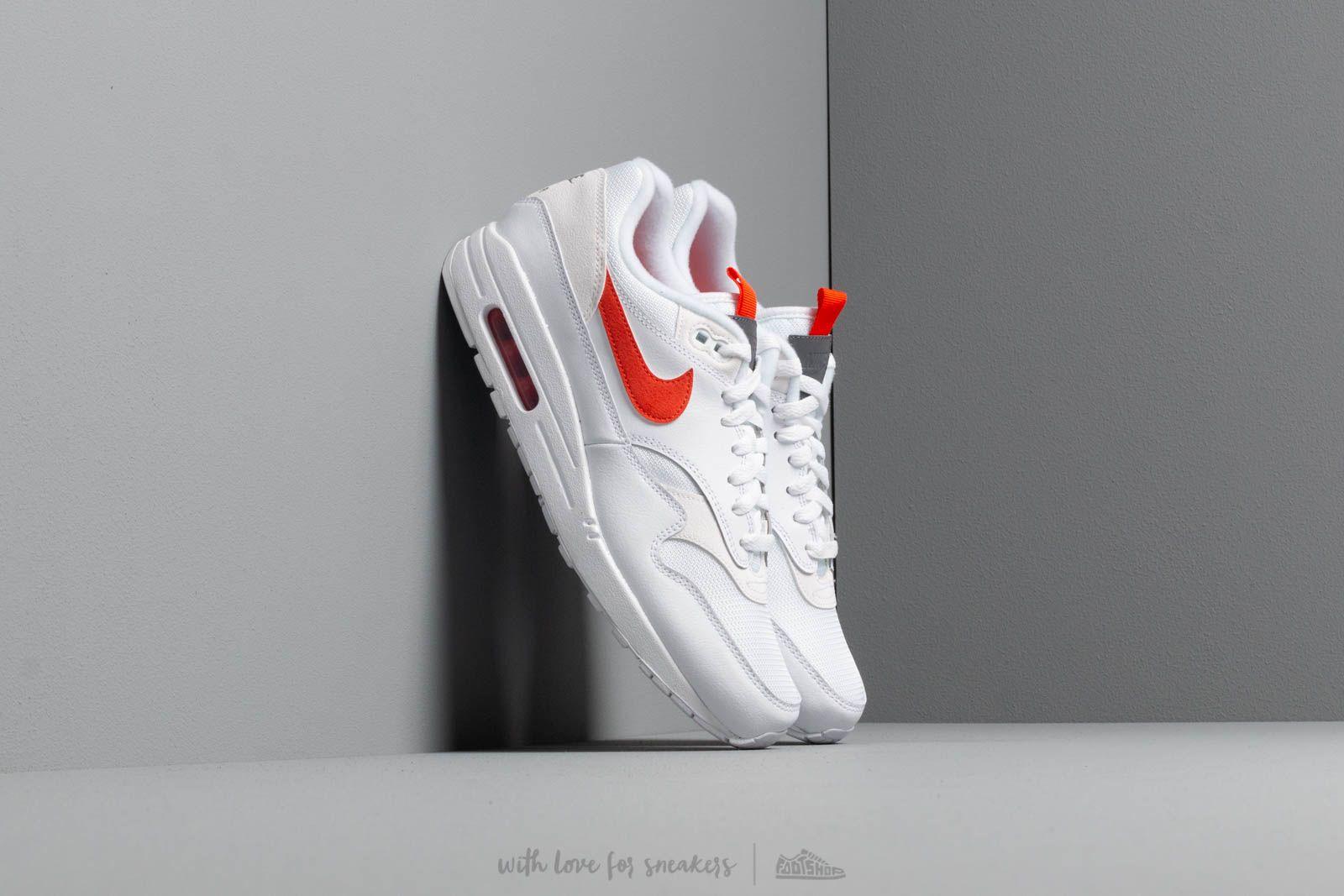 Pánské tenisky a boty Nike Air Max 1 Se White/ Team Orange