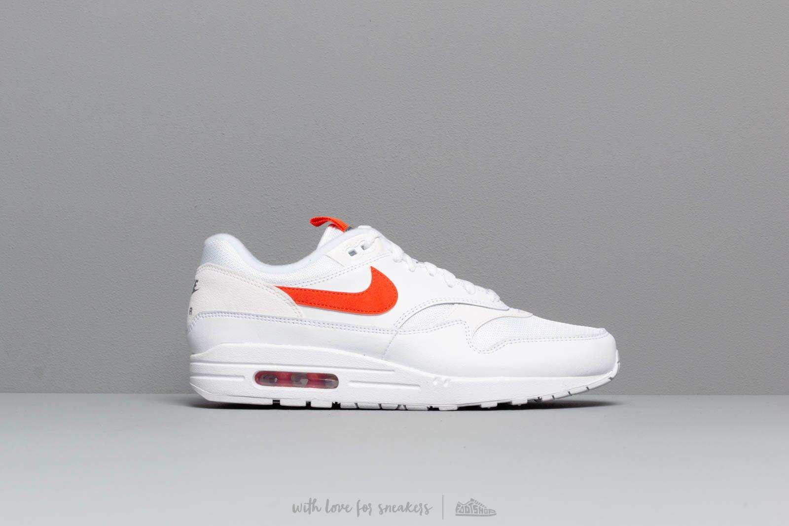 Nike Air Max 1 Se White Team Orange | Footshop
