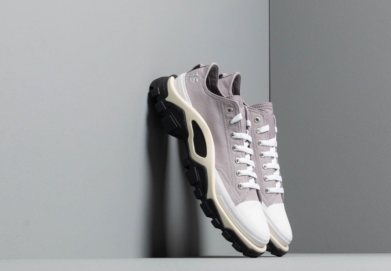 adidas x Raf Simons Detroit Runner Light Granite Silver Metallic Core White