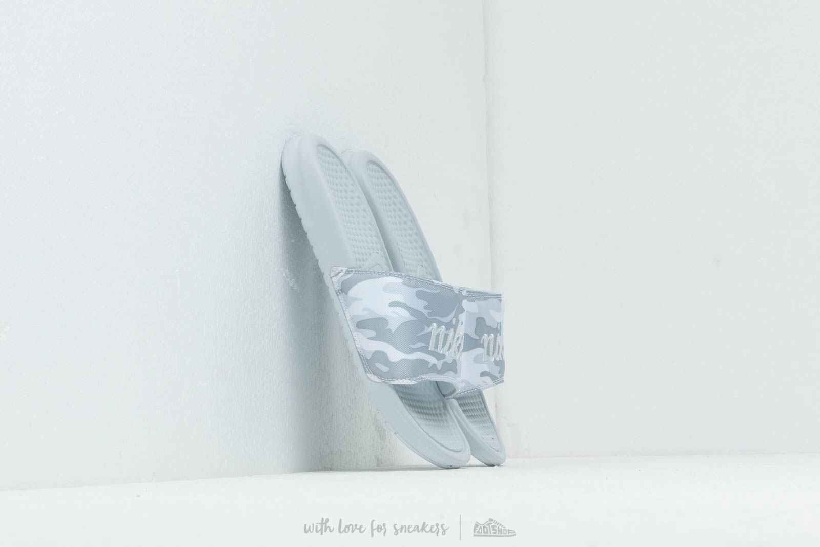 Γυναικεία παπούτσια Nike Wmns Benassi Jdi Txt Se Pure Platinum/ Mtlc Platinum-White