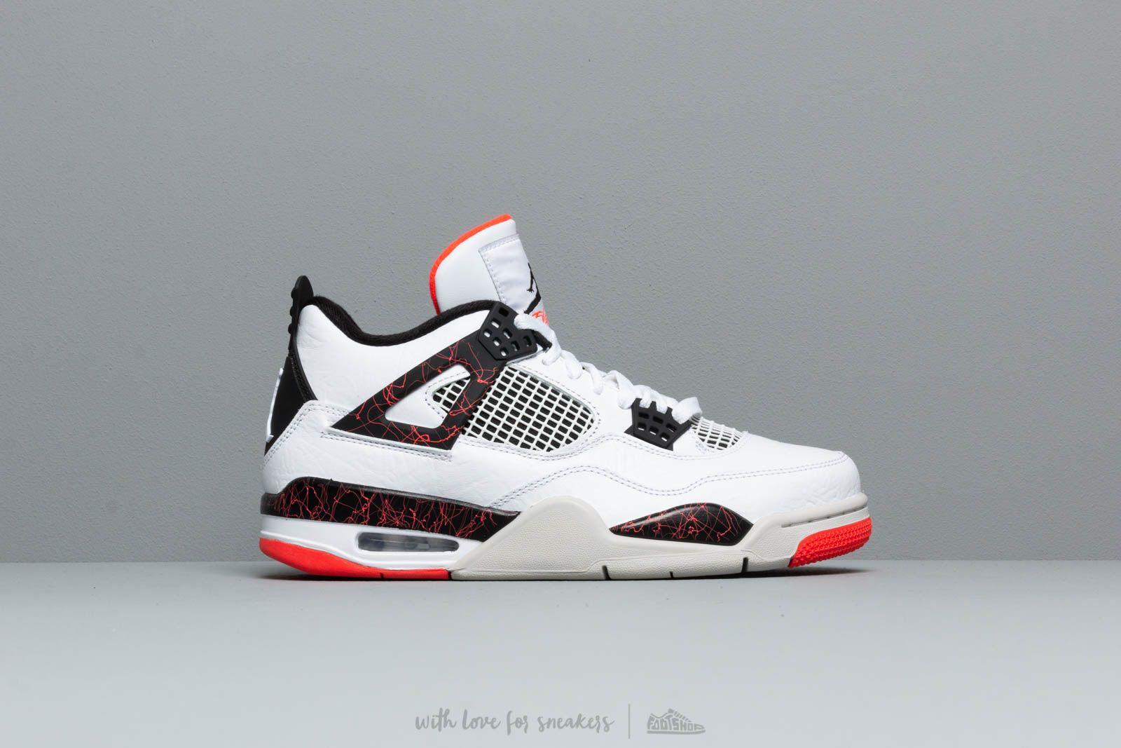 Men's shoes Air Jordan 4 Retro White