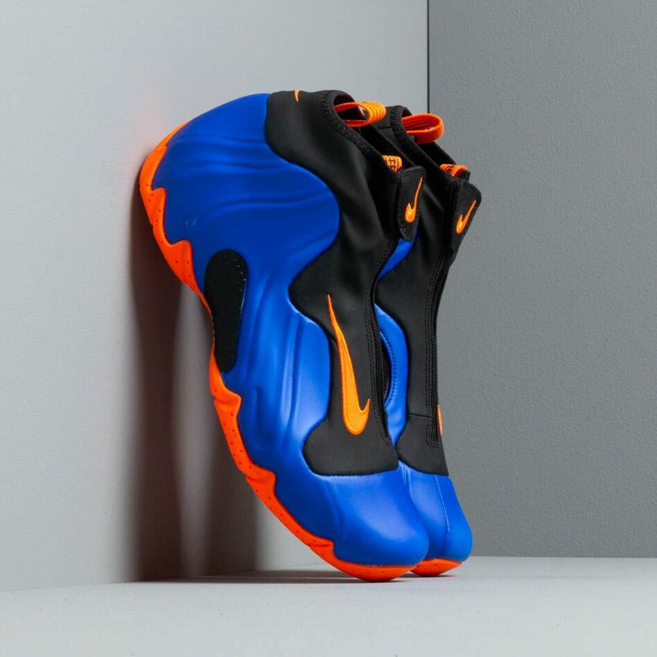 Nike Air Flightposite Racer Blue Total OrangeBlack