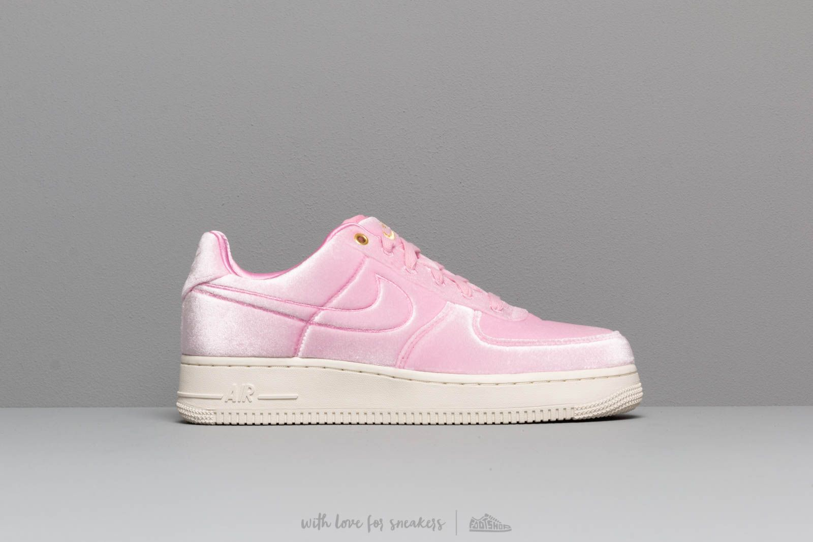 fda60796b37 Nike Air Force 1  07 Prm 3 Pink Rise  Pink Rise-Sail-Metallic Gold ...