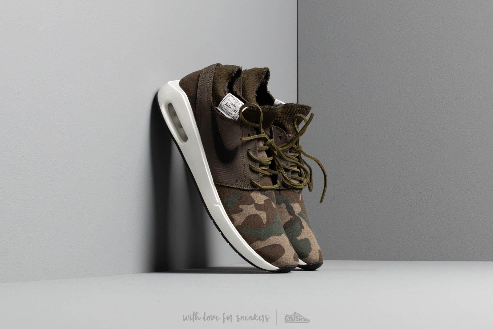 Men's shoes Nike Sb Air Max Janoski 2 Premium Iguana/ Black-Cargo Khaki-Desert Ore