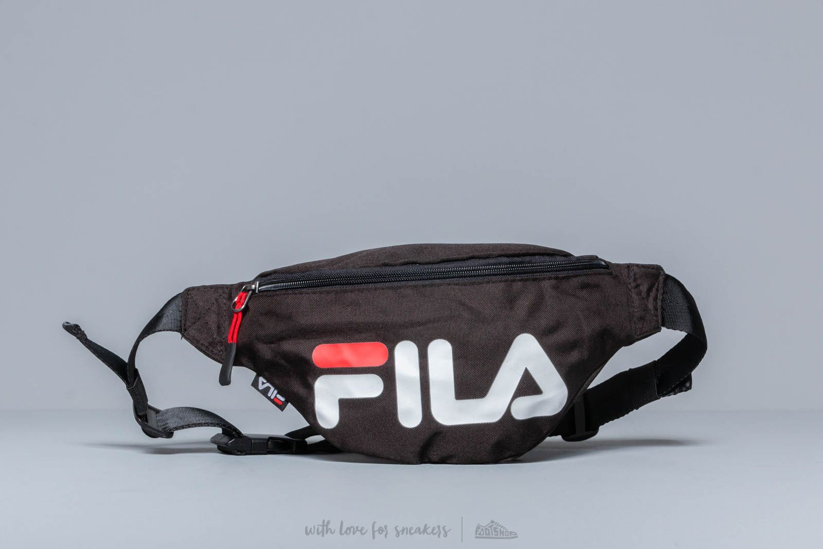 FILA Slim Waist Bag Black