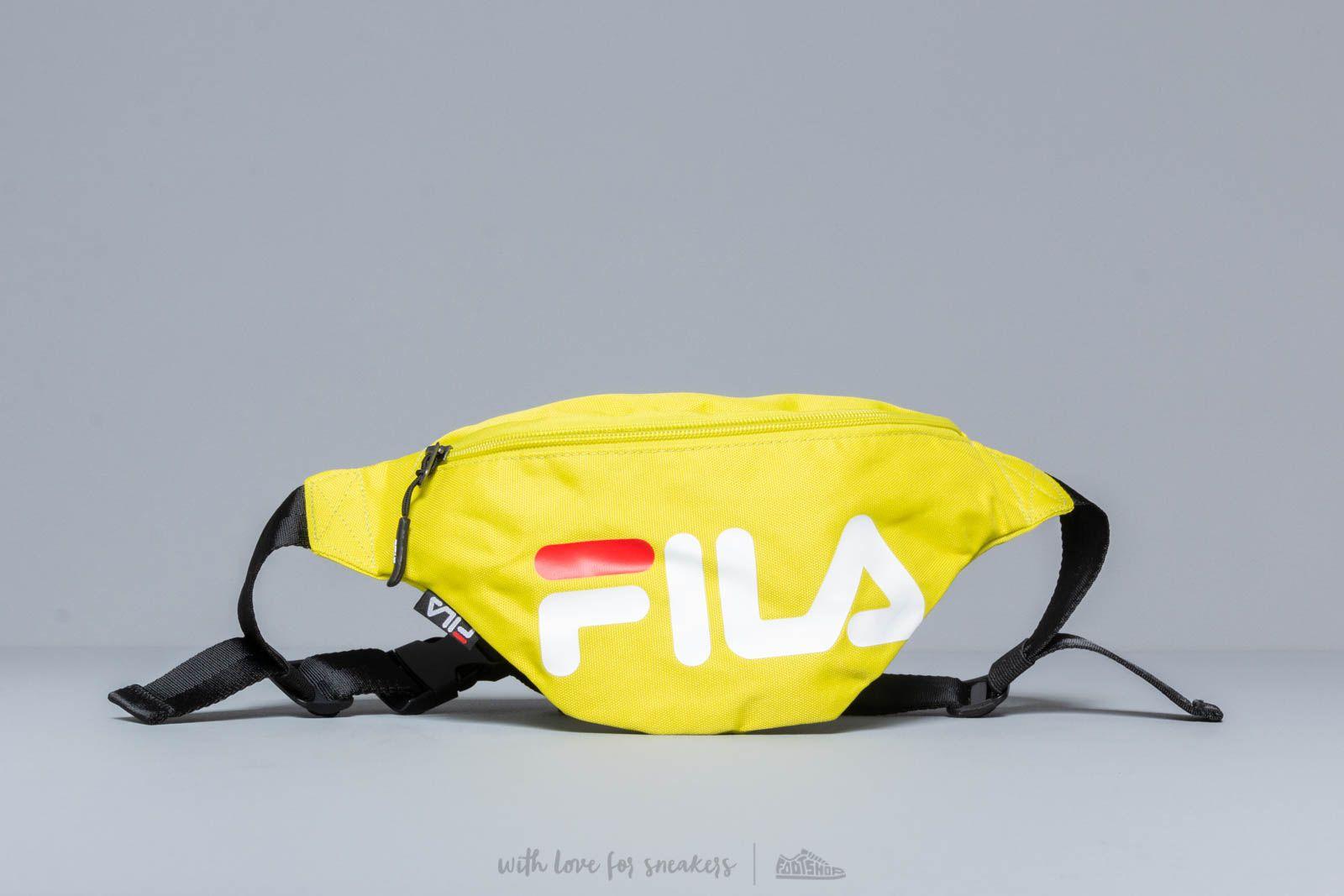 f7b2260ec4f6 FILA Slim Waist Bag Sulfur Spring