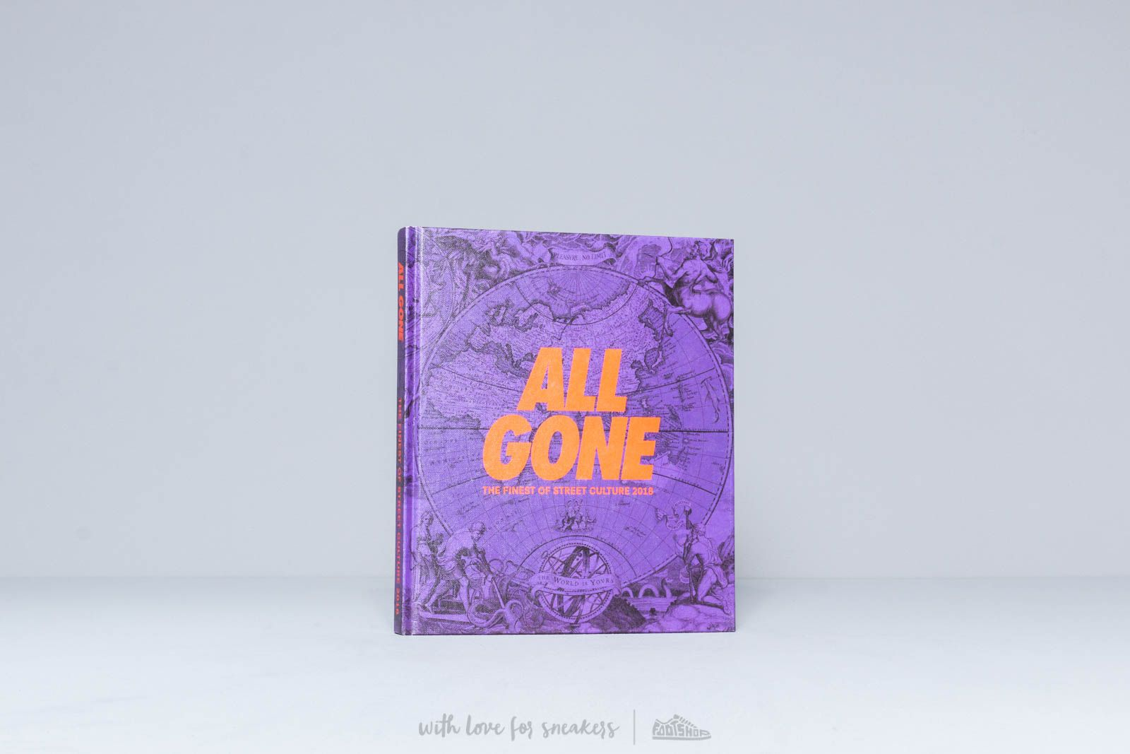 All Gone The Finest Of Street Culture 2018 Purple at a great price $69 buy at Footshop