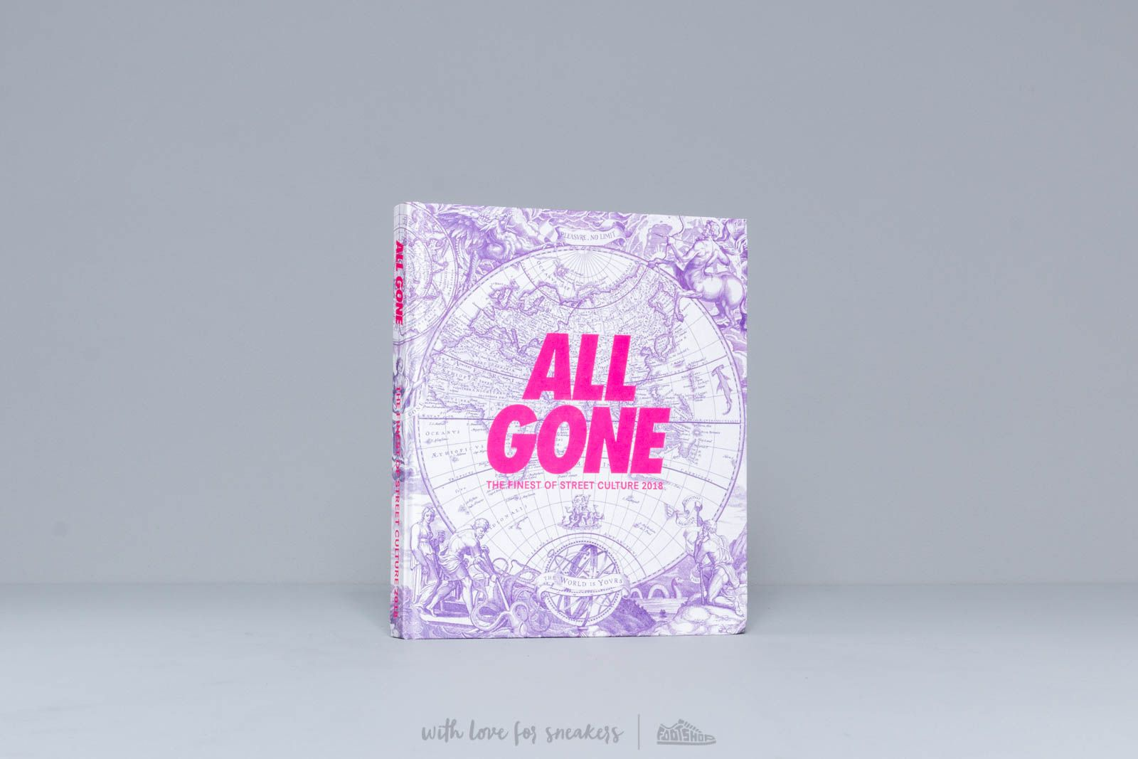 All Gone The Finest Of Street Culture 2018 White/ Purple at a great price $52 buy at Footshop