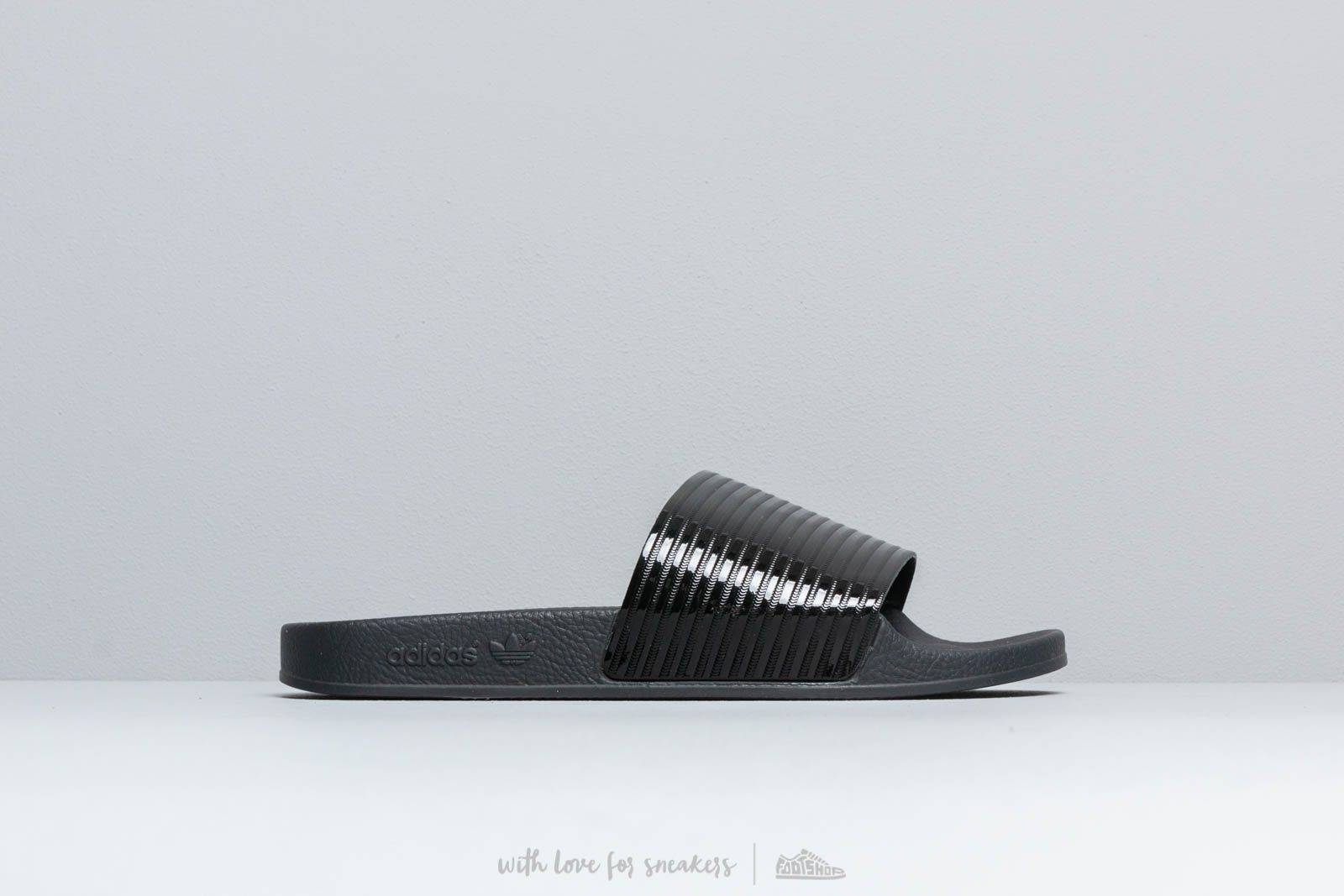 f6b10dcb1 adidas Adilette W Core Black  Core Black  Ftw White at a great price 57