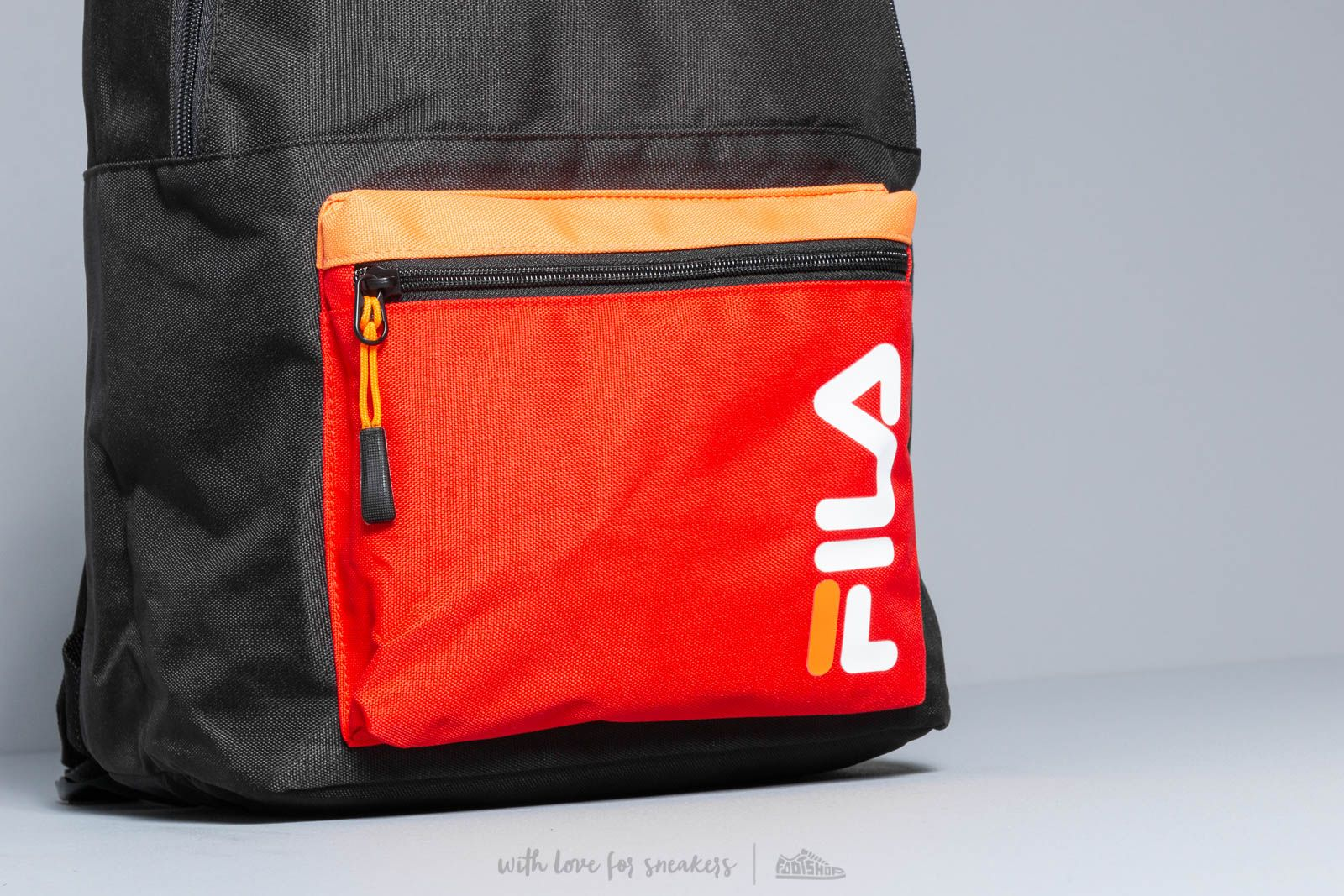 be5b19e9b8b2 FILA S cool Backpack Black  Fiery Red at a great price 29 € buy