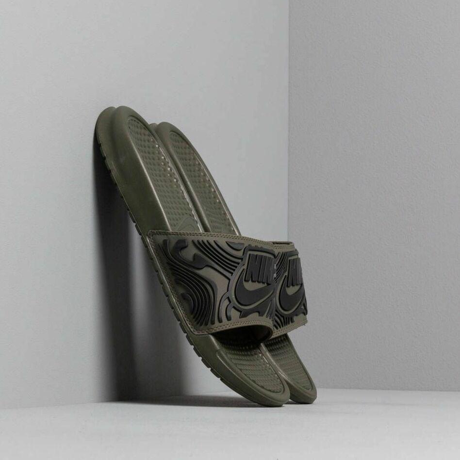 Nike Benassi Jdi Se Cargo Khaki/ Black-Black EUR 42.5
