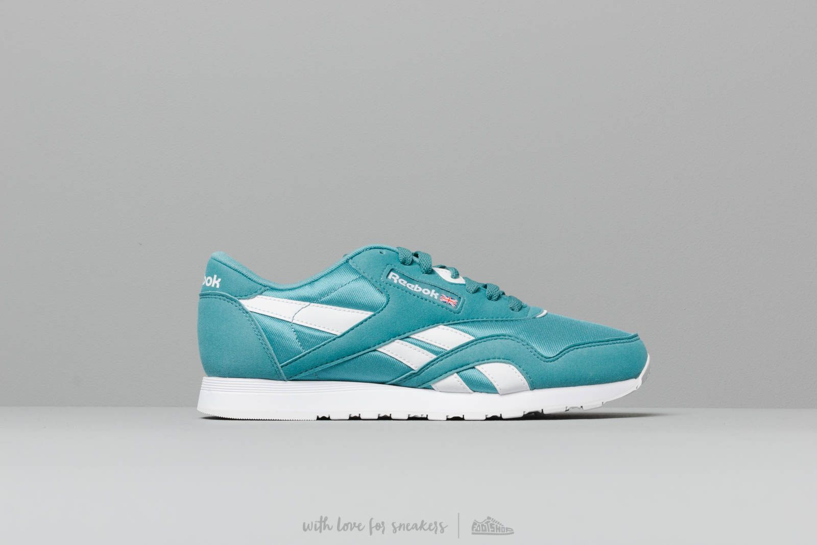 5eafa11f3 Reebok Classic Nylon Color Mineral Mist  White at a great price £62 buy at