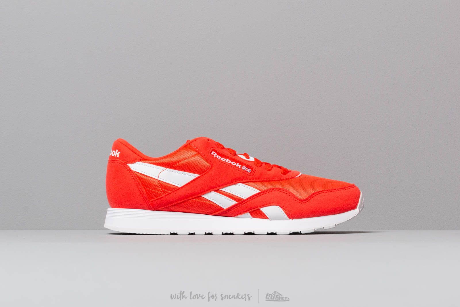 f7aca9fe Reebok Classic Nylon Color Canton Red/ White W super cenie 329 zł kupuj na  Footshop
