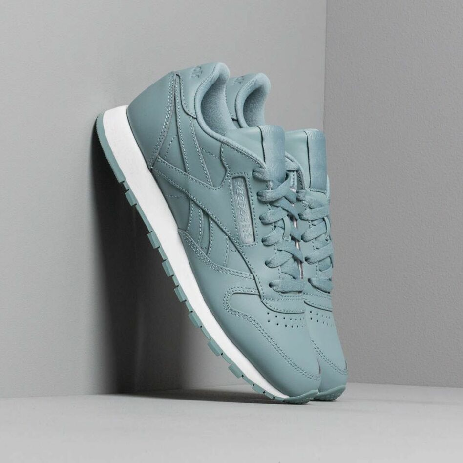 Reebok Classic Leather W Teal Fog/ White EUR 41