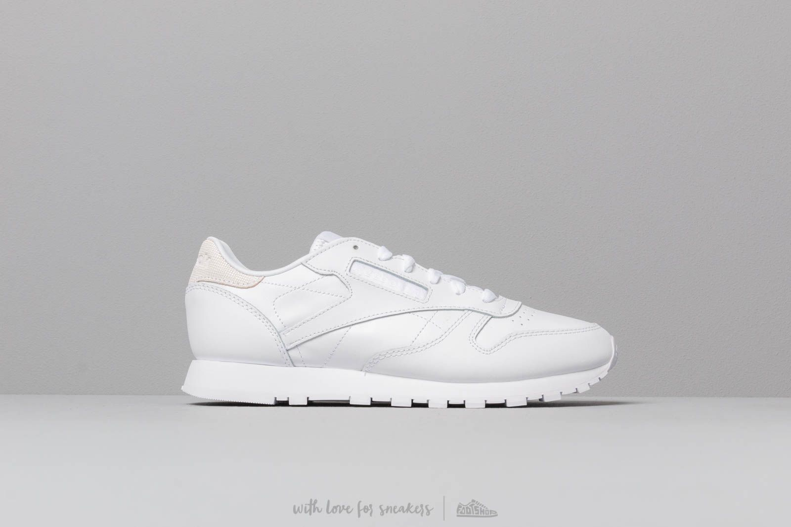6b90afd1099 Reebok Classic Leather White  Mineral Mist at a great price £80 buy at  Footshop