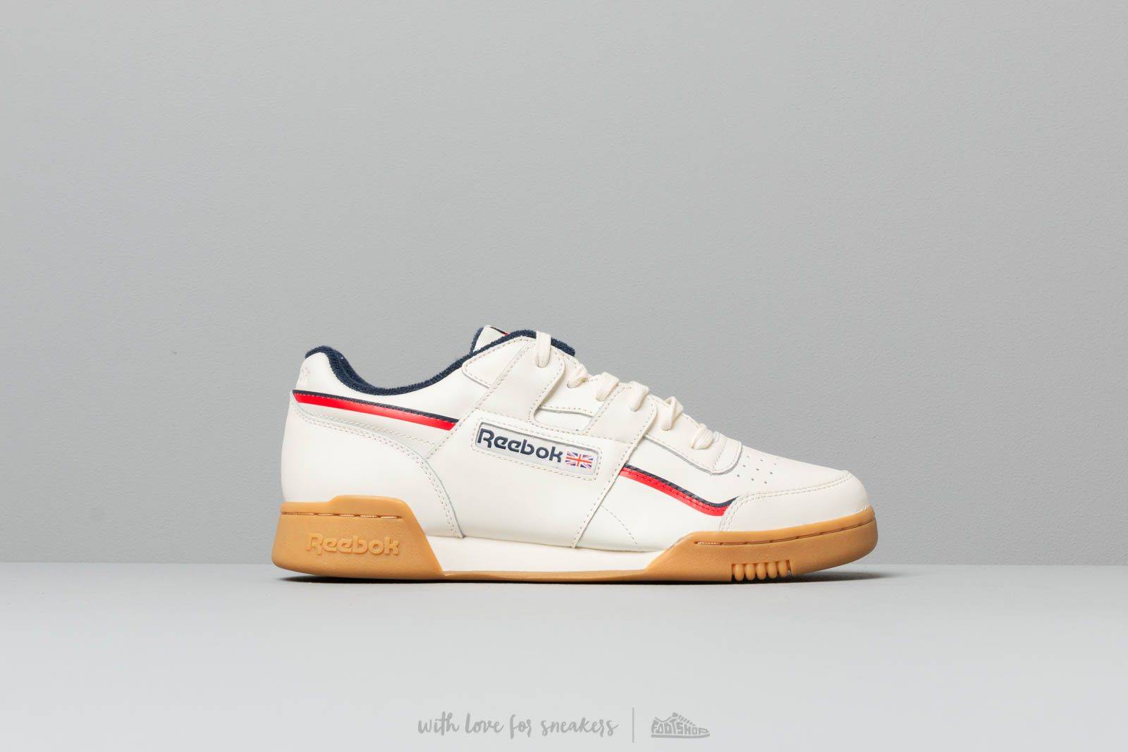 2c1156a209c Reebok Workout Plus Classic White  Navy  Red at a great price 92 € buy