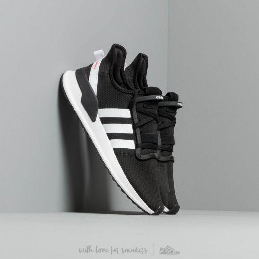 adidas U_Path Run Core Black Ftw White Shock Red   Footshop