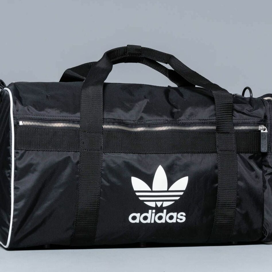 adidas Large Dufflebag Black