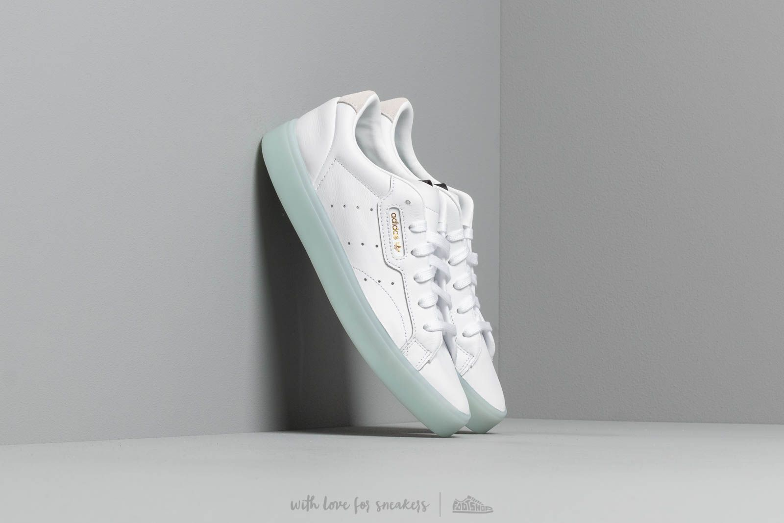 pretty nice cb232 4dbdf adidas Sleek W Footwear White Footwear White Ice Mint at a great price £