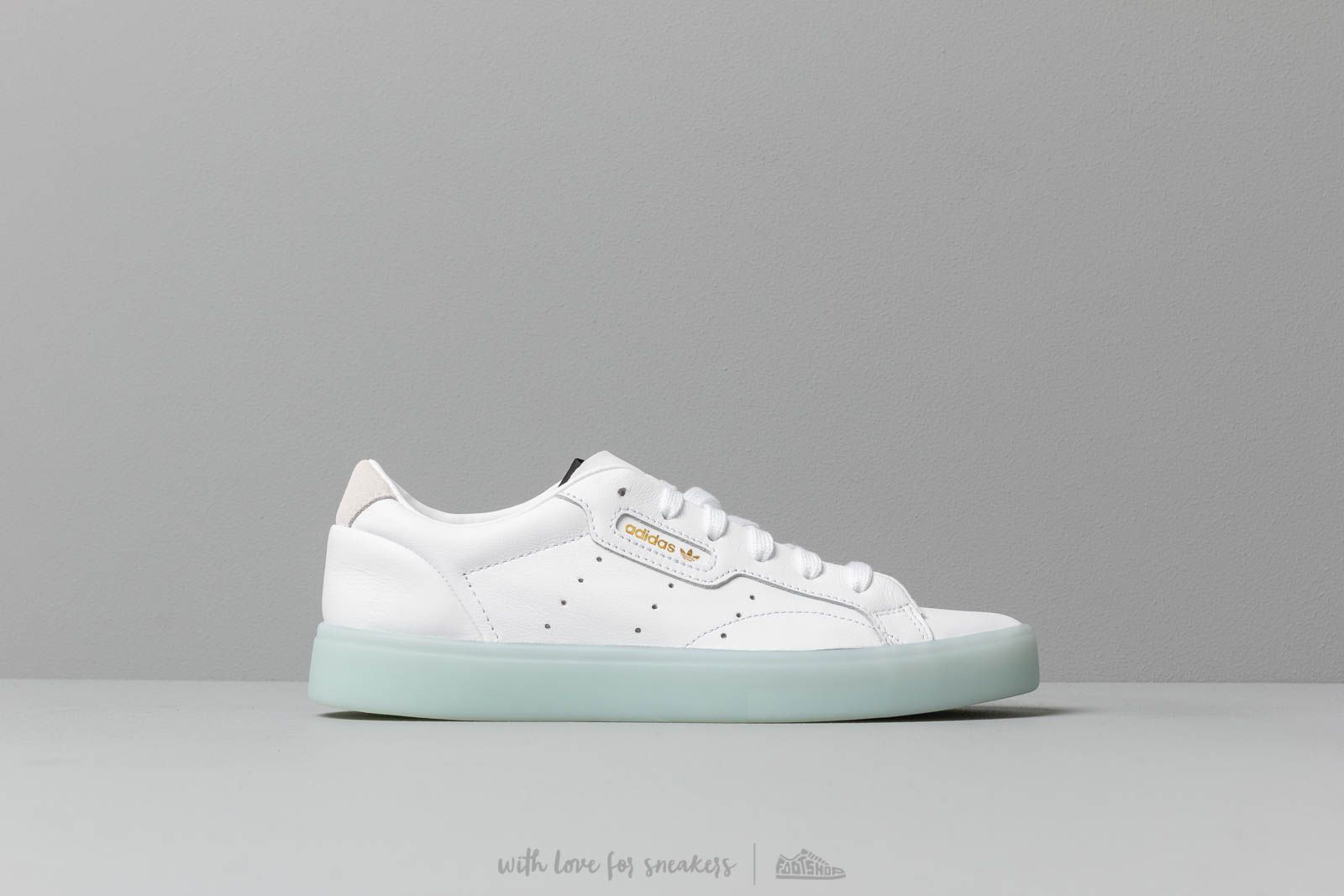 adidas Sleek W Footwear White Footwear White Ice Mint
