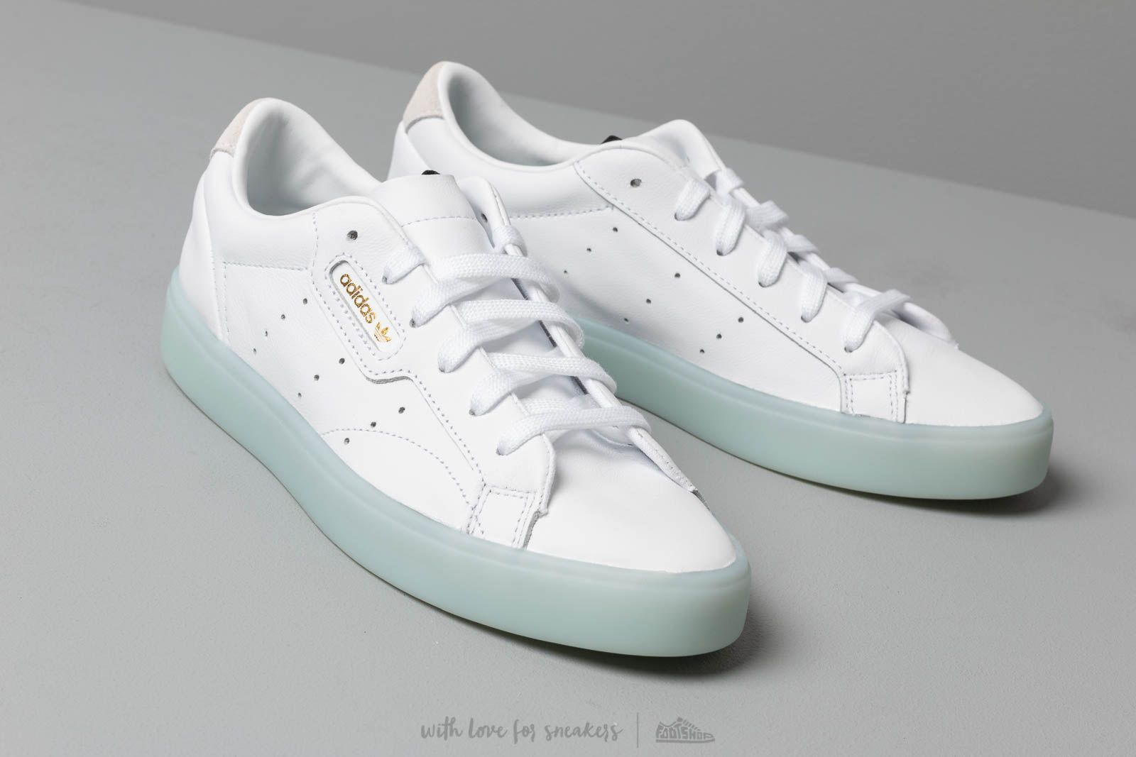 adidas Sleek W Footwear White Footwear White Ice Mint Footshop  Footshop