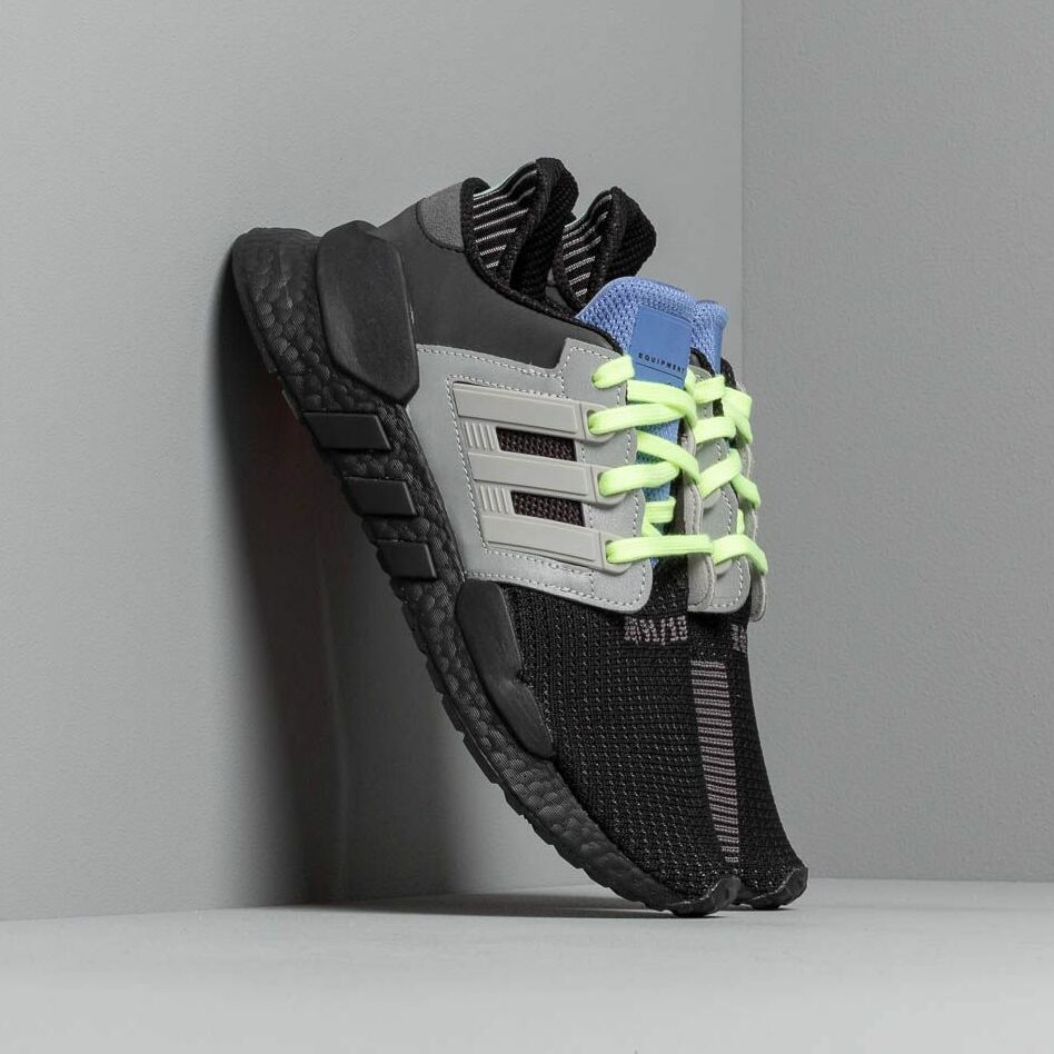 adidas Eqt Support 91/18 Core Black/ Grey Two/ Real Lilac EUR 44 2/3