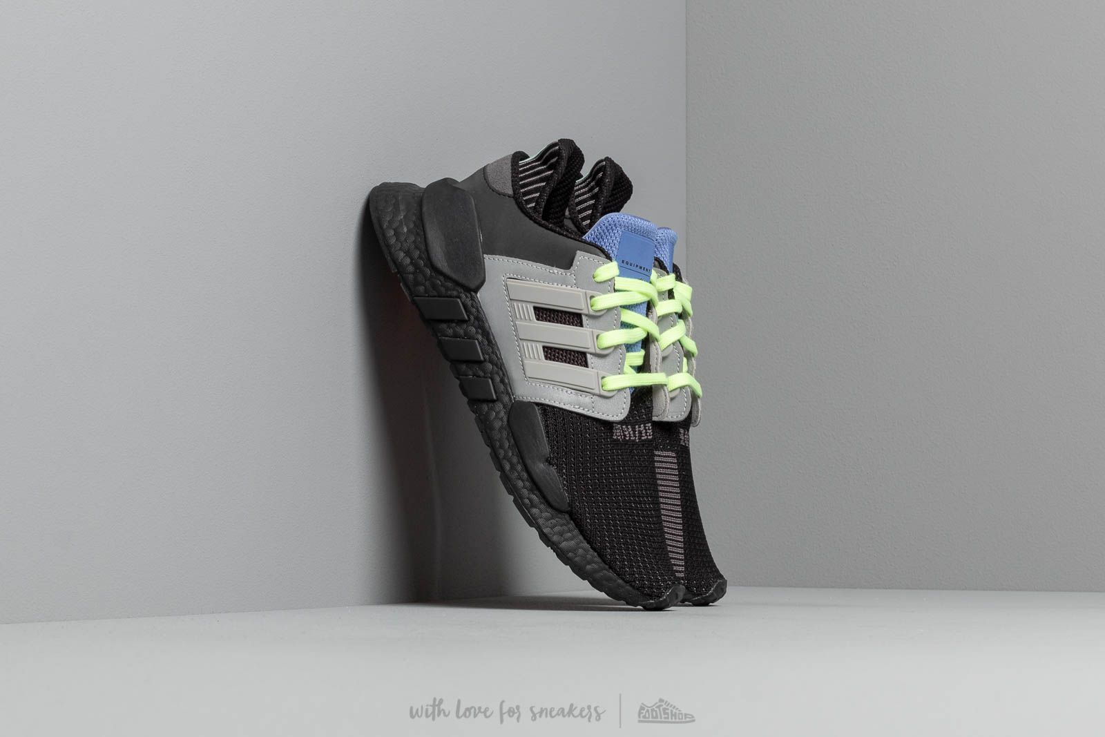 official images vast selection temperament shoes adidas Eqt Support 91/18 Core Black/ Grey Two/ Real Lilac ...