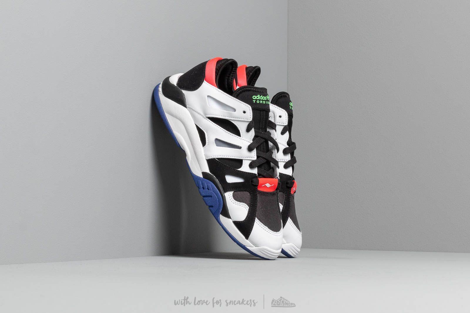 Pánské tenisky a boty adidas Dimension Lo Core Black/ Ftw White/ Active Blue