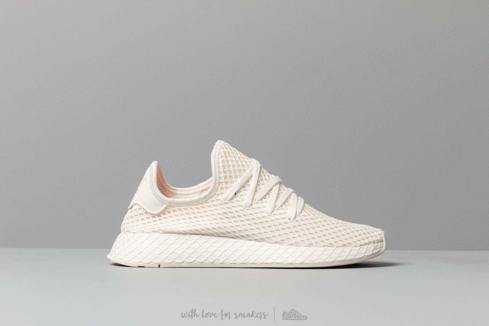 0c930581cd8bb adidas Deerupt Runner Off White  Ftw White  Shored at a great price  108 buy