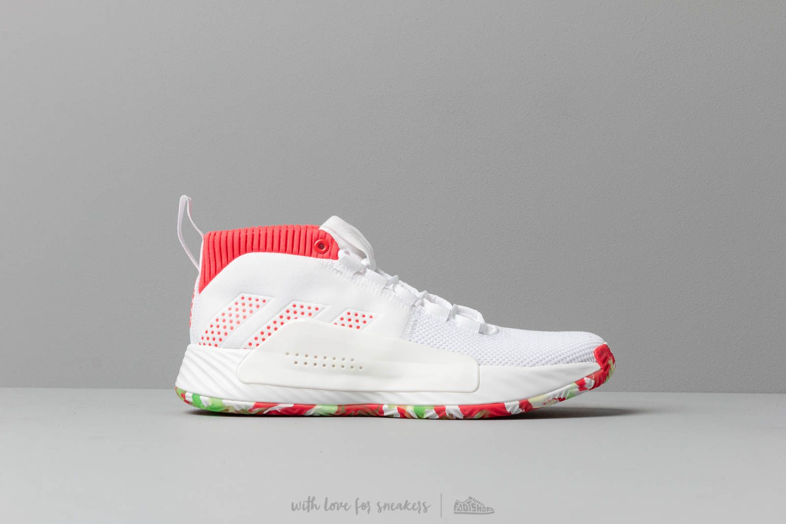 9aed34ce0644d9 adidas Dame 5 Ftw White  Shored  Crystal White at a great price 106 €