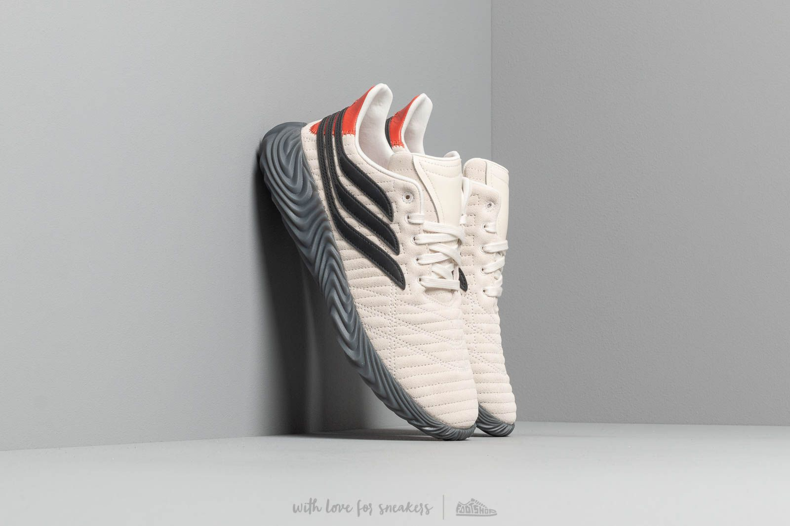 huge discount 872c3 6542f adidas Sobakov Off White  Core Black  Rawamb at a great price 114 € buy