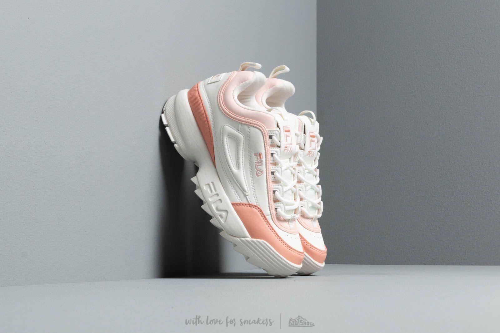 Women's shoes FILA Disruptor CB Low Wmn Marshmallow/ Salmon