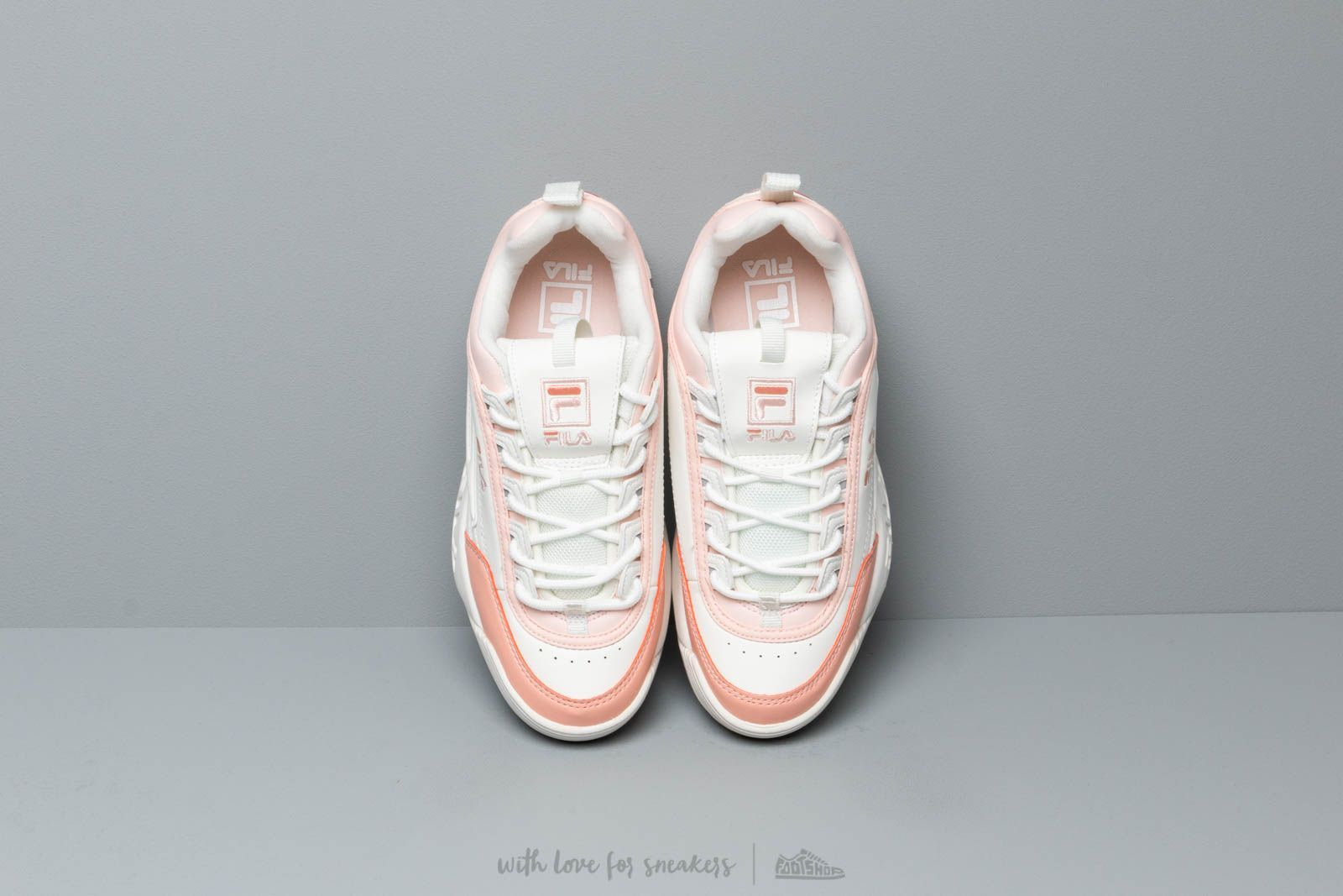 FILA Disruptor CB Low Wmn Marshmallow/ Salmon | Footshop