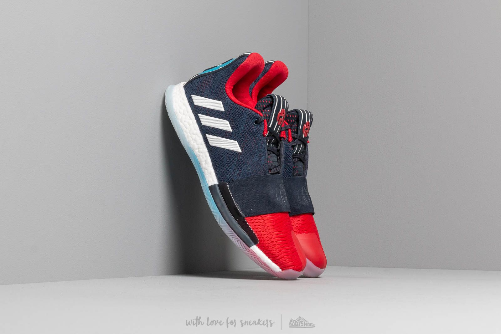 ee992998b03 adidas Harden Vol. 3 Legend Ink  Collegiate Navy  Power Red at a great