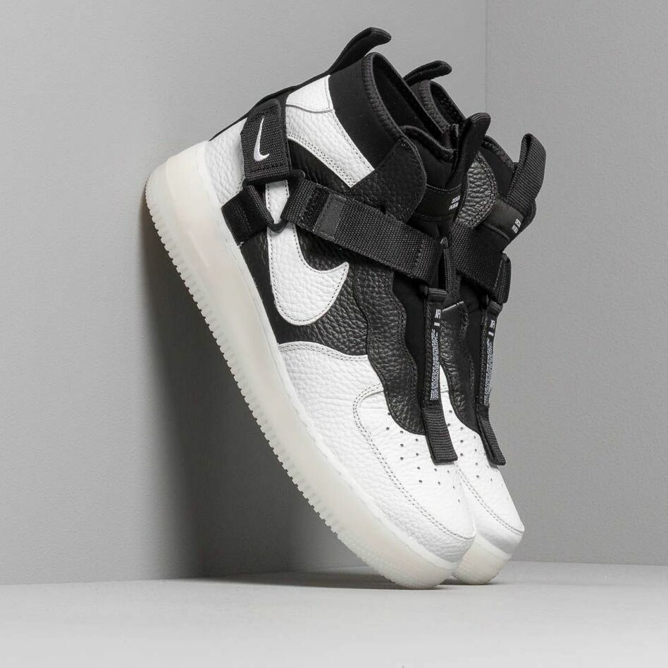 Nike Air Force 1 Utility Mid Off White/ Black-White EUR 43