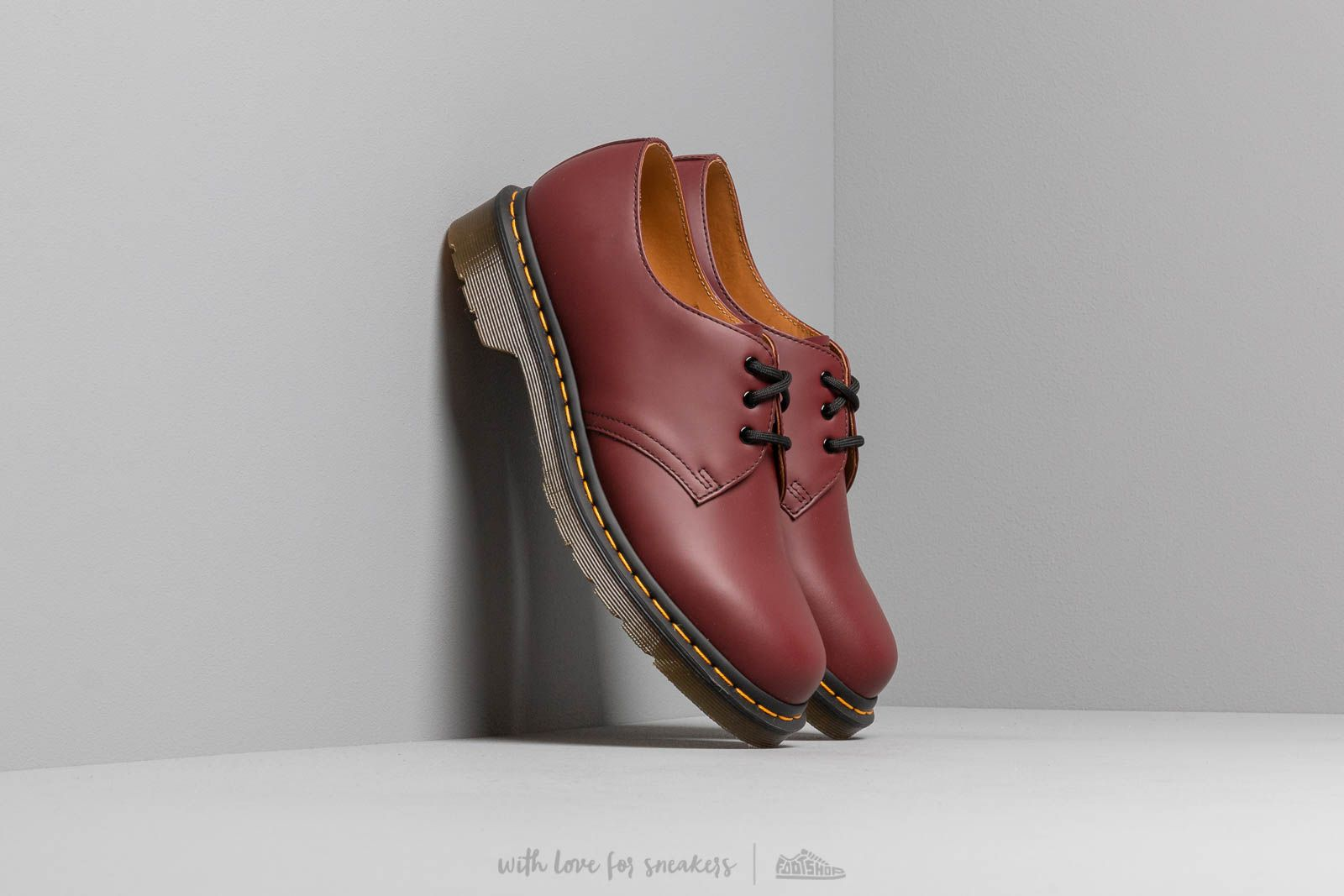 Men's shoes Dr. Martens 1461 Smooth Cherry Red