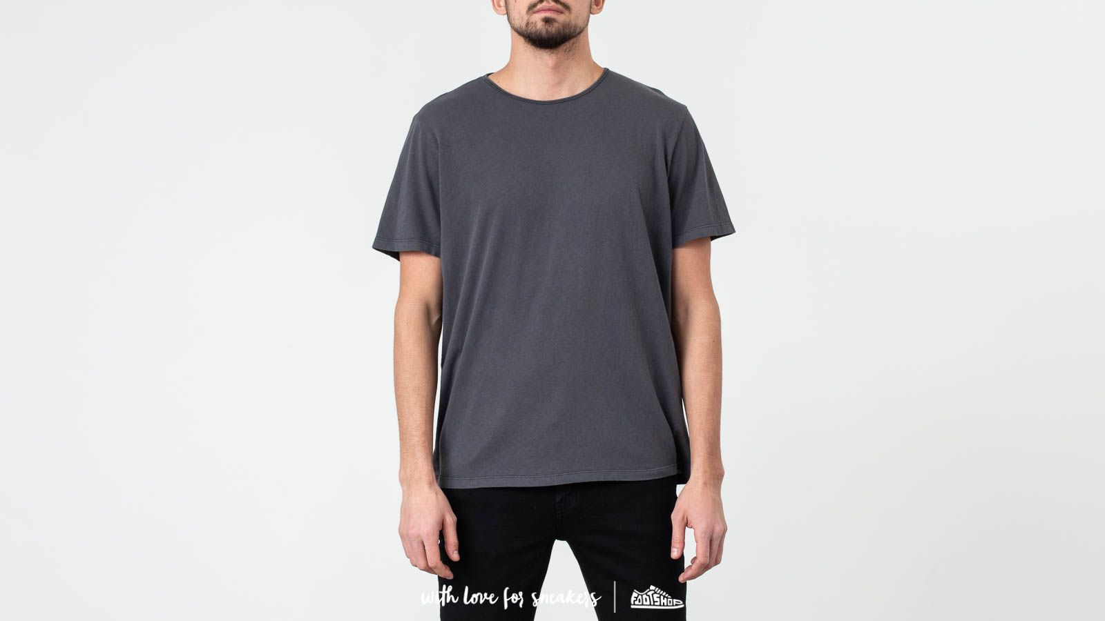 Our Legacy Smog Bandage Cotton Delicate U-Neck Tee