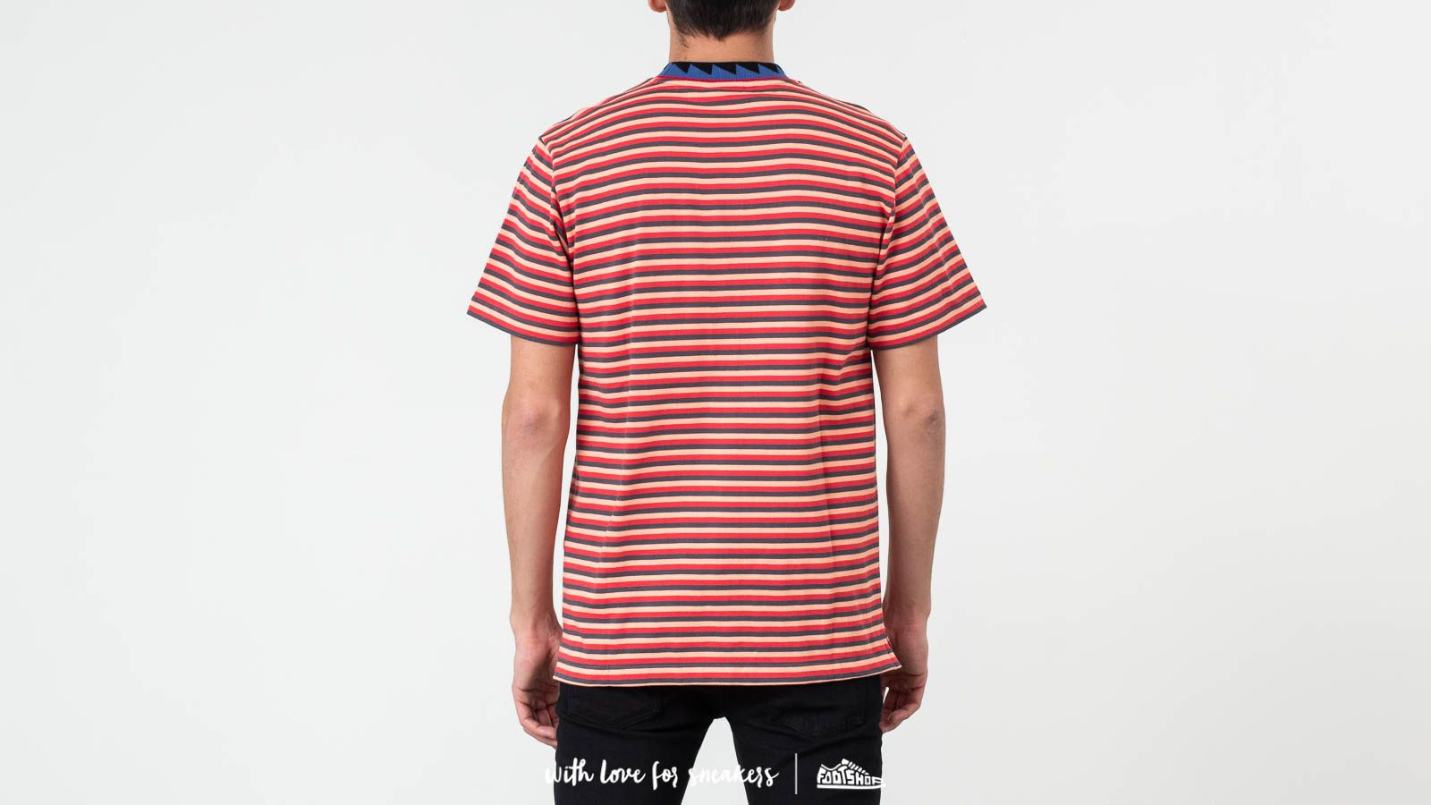 ebcfc792 Billionaire Boys Club Striped Pocket Tee Red at a great price $161 buy at  Footshop