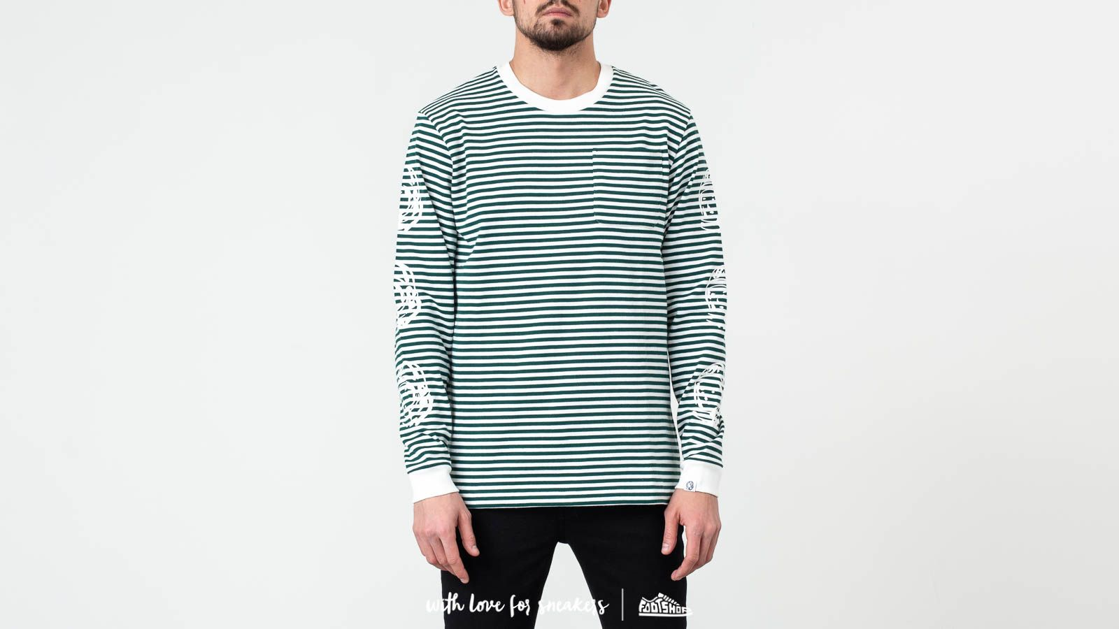 Billionaire Boys Club Small Stripe Long Sleeve Tee